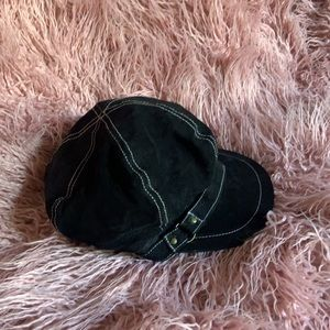 Nine West Suede Newsboy Hat
